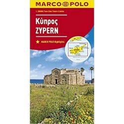 Ciprus térkép Marco Polo 2018 1:200 000
