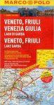 Veneto térkép Marco Polo 2015 1:200 000  Garda Tó