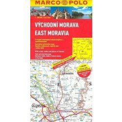 East Kelet Moravia térkép Marco Polo 2013 1:200 000