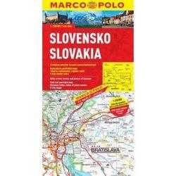 Szlovákia térkép Marco Polo 1:200 000  2015