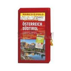 Ausztria térképszett 1:200 000 5 várostérképpel  Marco Polo