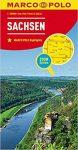 Sachsen térkép Marco Polo 2016 1:200 000 Szász Svájc térkép