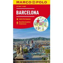 Barcelona térkép Marco Polo vízálló 2018 1:12 000