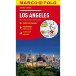 Los Angeles térkép vízálló Marco Polo 2019 1:15 000 Los Angeles várostérkép