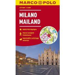 Milánó térkép Marco Polo vízálló 2018 1:15 000