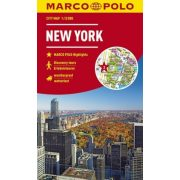 New York térkép Marco Polo 1:15 000   2019
