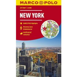 New York térkép Marco Polo 1:15 000   2019