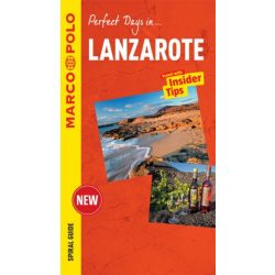 Lanzarote útikönyv Marco Polo Mairdumont angol 2016