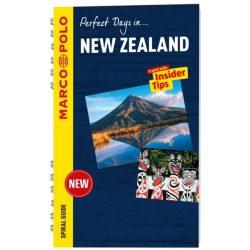 New Zealand útikönyv Marco Polo, Új-Zéland útikönyv angol 2017