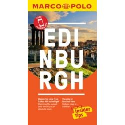 Edinburgh útikönyv Marco Polo Pocket - angol 2019