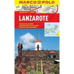 Lanzarote térkép Marco Polo 2013  1:100 000