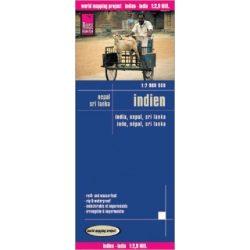 India térkép Reise 2012 1:2 900 000