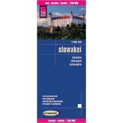 Szlovákia térkép Reise