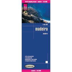 Madeira térkép Reise 1:45 000  2017