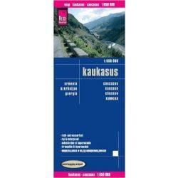 Kaukázus térkép Reise autós térkép 1:650 000  2014
