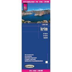 Krim térkép Reise 1:340 000