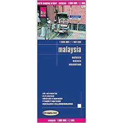 Malaysia térkép Reise 1:800 000, 1:100 000 Malajzia térkép