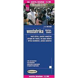 West africa térkép Reise  1:2 200 000  Nyugat Afrika térkép