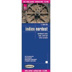Északkelet-India térkép Reise 2011 1:1 300 000