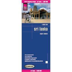 Sri Lanka térkép Reise 1:500 000   2017