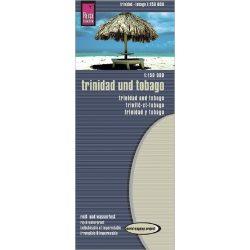 Trinidad és Tobago térkép Reise  1:150 000  Trinidad térkép