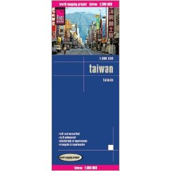Taiwan térkép Reise 2012 1:300 000