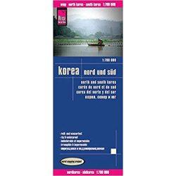 Korea térkép Reise 1:700 000