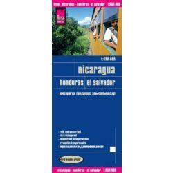 Nicaragua térkép Reise 1:650 000  2014
