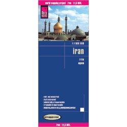 Irán térkép Reise 1:1 500 000 2017