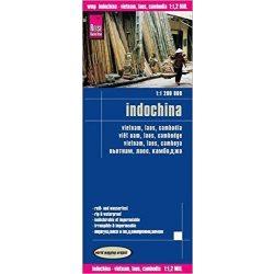 Indochina térkép Reise 1:1 200 000  2016