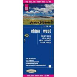 Nyugat-Kína térkép Reise 1:2 700 000 Észak-Korea, Dél-Korea térkép