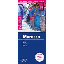 Marokkó térkép Reise 1:1 000 000  2018