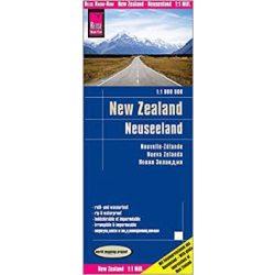 Új-Zéland térkép Reise New Zealand térkép 2017  1:1 000 000