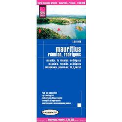 Mauritius térkép Reise 1:90 000