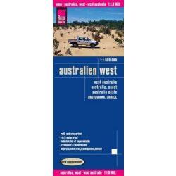 Nyugat-Ausztrália térkép Reise 2015  1:800 000