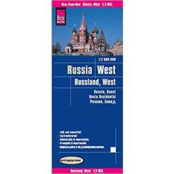Oroszország térkép Reise Russia térkép 2015 1:2 000 000