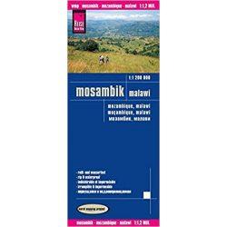 Mosambik térkép Reise 1:1 200 000