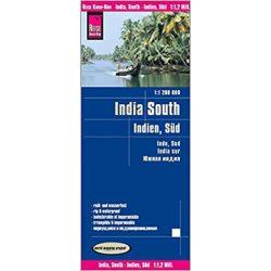 Dél-India térkép Reise 2018 1:1 200 000
