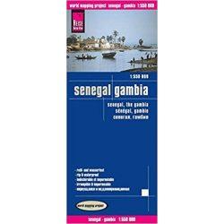 Senegal térkép Reise 2012 1:550 000
