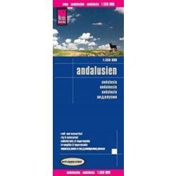 Andalúzia térkép Reise  2016 1:350 000