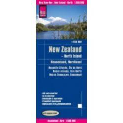 Új-Zéland térkép Reise New Zealand 2018  1:550 000  Északi sziget térkép