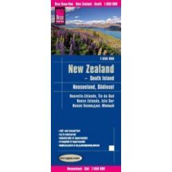 Új-Zéland térkép Reise New Zealand  2018  1:550 000 Déli sziget térkép
