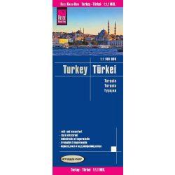 Törökország térkép Reise 1:1,1  Mio. 2019