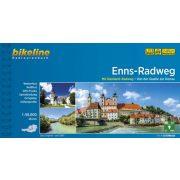 Enns-Radweg kerékpáros atlasz Esterbauer 1:75 000  Enns kerékpáros térkép