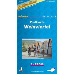 Weinviertel kerékpár térkép 1:75 000