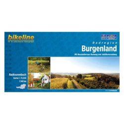 Burgenland kerékpáros atlasz Esterbauer 1:100 000  Burgenland kerékpáros térkép