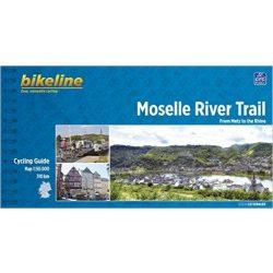 Moselle térkép kerékpáros, Moselle River Trail Esterbauer 2013
