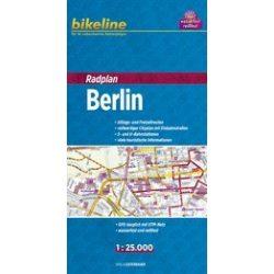 Berlin kerékpáros térkép 1:25 000