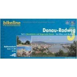 3. Donau-Radweg kerékpáros atlasz Esterbauer 1:75 000  2016 Duna kerékpáros térkép