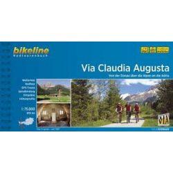 Via Claudia Augusta kerékpáros atlasz Esterbauer  Bikeline Via Claudia Augusta 2014